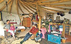 Lammas eco-village  Simon Dale's off grid low impact house   We may all need to live like this soon!