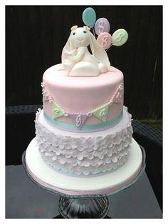 154 Best Bunny Cakes Images On Pinterest Birthday Cakes Fondant