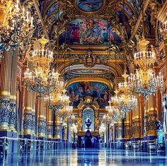 Opéra de Paris, Paris, France Opera de Paris II by IsacGoulart We just spoke about this beautiful place today in my music history class. Places Around The World, Oh The Places You'll Go, Places To Travel, Around The Worlds, Paris France, Oh Paris, I Love Paris, Beautiful Architecture, Beautiful Buildings