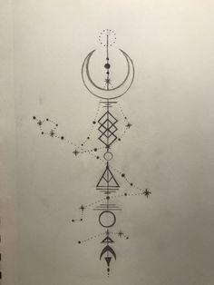 So etwas wäre ordentlich, aber mit meinem und Zak's Sternzeichen (Wassermann-Konstellation) im Hintergrund Such a thing would be neat but with my and Zak's Zodiac (Aquarius Constellation) in the background Capricorn Constellation Tattoo, Capricorn Tattoo, Zodiac Sign Tattoos, Constellation Drawing, Zodiac Signs, Pisces Tattoo Designs, Compass Tattoo, Body Art Tattoos, Sleeve Tattoos