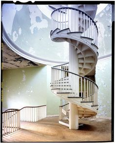 Spiraling Out of Control: The Greatest Spiral Stairs in the World | Atlas Obscura