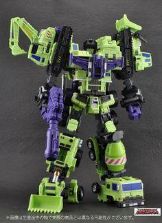 'Green Giant Type 61'   Make Toys (Third Party Transformer toy company)  AKA Devastator