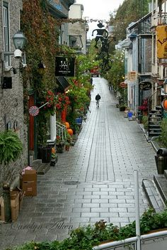 Beautiful Old Quebec City