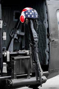 Door gunners position of a Vietnam veteran Huey helicopter. Vietnam History, Vietnam War Photos, North Vietnam, Vietnam Veterans, Military Helicopter, Military Aircraft, Military Art, Military History, Gi Joe