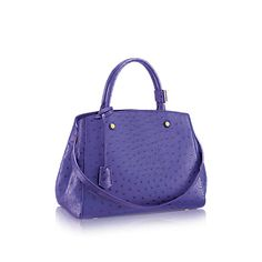 Montaigne MM Ostrich - Rare and Exceptional | LOUIS VUITTON