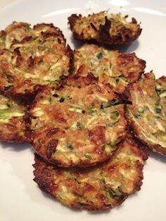 Zucchini Tots - made it added carrots and substituted breadcrumbs for milled flax seed.