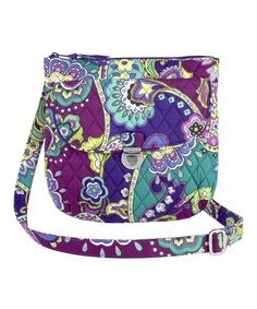 Look at this Heather Saddle Hipster Crossbody Bag on #zulily today!
