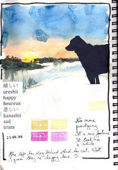 2018 - Day 29 Journal, Happy, Ser Feliz, Being Happy