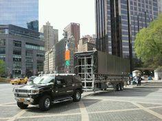 HUMMER XXL Columbus Circle NYC