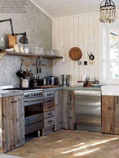 kitchen ideas mountain cabin @ kvitfjell