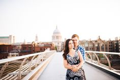 An Early Morning Sunrise St. Paul's Cathedral Engagement Shoot – Laura & Charlie by Babb Photo