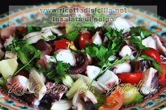Ricetta di insalata di mare   Ricette di Sicilia