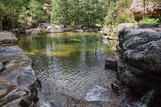 Une des piscines naturelles d'Aïtone - Evisa (Corse du Sud)