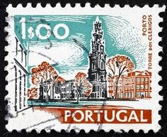 postage stamps from portugal Postage Stamp Design, Postage Stamps, Stamp World, Stamp Collecting, My Stamp, Collections, Queen Elizabeth, Tiles, Europe