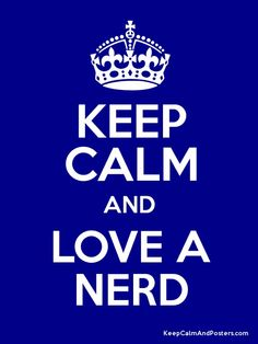 My hubby is a nerd at heart. <3