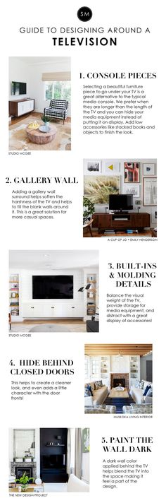 Studio McGee's Guide to Designing around a Television