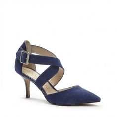 Sole Society Tamra Pointed Toe Heels Sapphire 6 | Shoes and Footwear