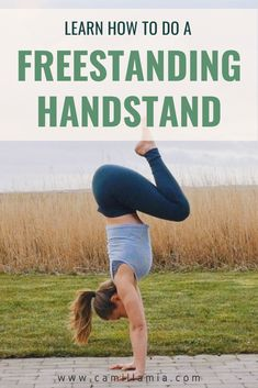 Learn how you can move away from the wall in your handstand practice and learn the freestanding handstand as well as different freestanding handstand shapes! Step-by-step instructions on how to safely fall out of a handstand and detailed pictures and tutorials on how to enter different handstand shapes. Happy handstanding!