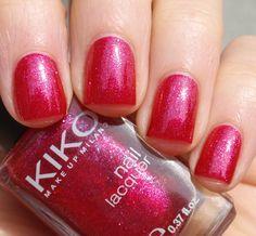 Kiko red sparkels