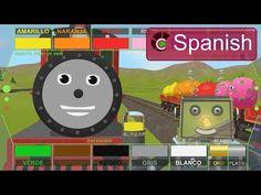 Aprender los colores con Rusty el Roboto y Shaun el tren. K-2