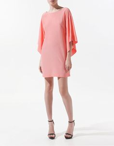 Zara Tunic, open back. Adore the color (muahaha and the price!)