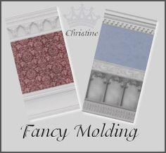 cm_11778's Fancy Molding Walls By Christine DV