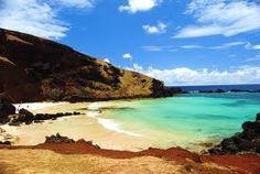 Ovahe, hermosisima playa en Isla de Pascua