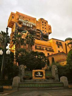 Tower of Terror!!! Disney California Adventure Park:)!