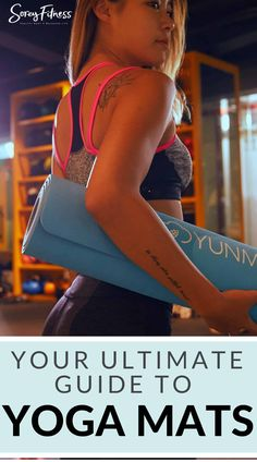 We've found the best high quality yoga mats and answered some of the top questions so that you can find your perfect yoga mat! Easy Workouts, At Home Workouts, Yoga Fitness, Fitness Tips, Fitness Routines, Health And Wellness, Health Fitness, Mental Health, Yoga At Home