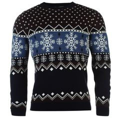 SoulCal Snowflake Knit Jumper #party #christmas #outfit