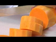 How to microwave to peel and cut a butternut squash (microwaving it makes it easier to peel and cut). I prefer to cut the squash (after microwaving) into 3 inch slices, then peel with a knife. Need to try it after microwaving it.