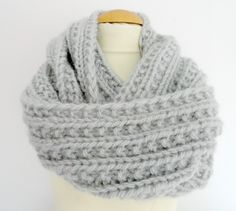 Snood en fausse maille anglaise  Libertylle/ Barbara