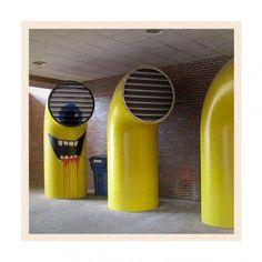 Insolite : Ils nous envahissent, même dans le street art | meltyBuzz