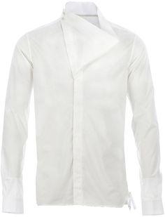 5bd9b8bb371a8 Rick Owens Long Sleeve Shirt - Lyst Men Shirts, Custom Hats, World Of  Fashion