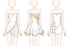 [24 HOURS] 10$ Dress Sketch Adoptables by Aloise-chan.deviantart.com on @DeviantArt
