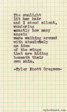 Typewriter Series #24 by Tyler Knott Gregson