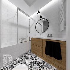 Łazienka styl Skandynawski - zdjęcie od Pracownia Projektowania | Daria Ciuńczyk-Duda - Łazienka - Styl Skandynawski - Pracownia Projektowania  |  Daria Ciuńczyk-Duda
