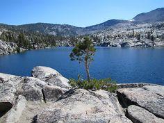 Backpacking Desolation Wilderness, Lake Tahoe