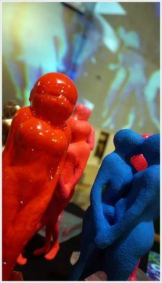 Installation for Zurich artfair 2018 - COLORS . 2018 Color, Zurich, Dinosaur Stuffed Animal, Objects, Sculpture, Colors, Artwork, Animals, Work Of Art