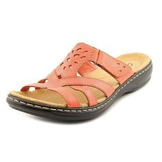 Clarks Leisa Plum Women US 8 Pink Slides Sandal ** Find out more about the great product at the image link.