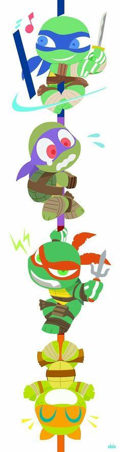 NEW Sweat Krang Ninja Turtles BIO Tortue Ice Cream Cartoon Tv Show Childhood 90
