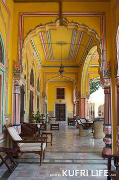 Palace hotel Narain Niwas, Jaipur, India