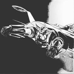 Regressione infantile vol.3: grandizer #grandizer #goldrake #igers #igersitalia #picoftheday #cartoon #graphicdesigner #illustrator #1980s #actarus #uforobot #cartoons #mazinger #atlasuforobot #kids❤️ #nagai #artwork #drawing