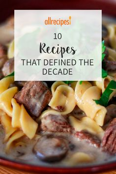 These most popular recipes of the decade run the gamut from vegan quinoa salad to bacon-wrapped jalapeno poppers. Chicken Wing Sauces, Chicken Wraps, Zesty Quinoa Salad, Food Film, Peach Syrup, Baked Avocado, Bacon Appetizers, One Dish Dinners, Star Food