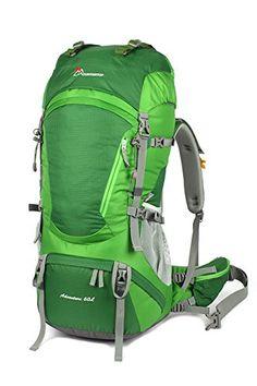 Amazon.com: Mountaintop Thunderbolt Outdoor Waterproof Hiking Climbing Backpack Harbor Blue 60L