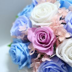 Wedding Bouquet, perfect for a Bridesmaid in lavender or pink