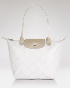 f085dce025 Longchamp Tote - Large Metallic Shoulder Bag