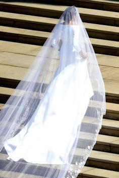 Here's Meghan Markle's Stunning Givenchy Wedding Dress!!!- Cosmopolitan.com