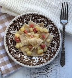 Tapparelle lucane con patate e pancetta