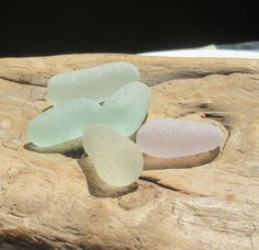 Large Sea Glass Stoppers, Patel Colors, Authentic Surf Tumbled Smooth No Hole Jewelry Making Gems by KreationsfromKaos on Etsy Sea Glass, Surfing, Jewelry Making, Gems, Smooth, Natural, Unique Jewelry, Colors, Handmade Gifts